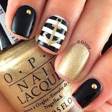 best 25 anchor nails ideas on pinterest nautical nails