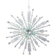 Silver Metal Christmas Decorations silver tree decorations polyvore