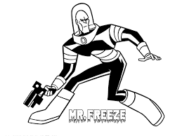 unique mr freeze coloring pages 64 for your coloring print with mr