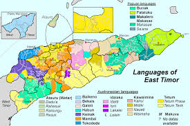 Map Of East United States by Languages Of East Timor Wikipedia