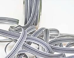 navy blue and white striped ribbon 1 5 38mm navy blue white striped grosgrain ribbon 1106 2 yds