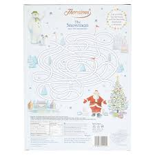 thorntons seasonal snowman advent calendar chocolates 180 g