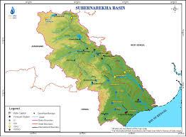 India River Map by Subarnarekha
