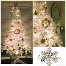 gold ornaments tree lights decoration