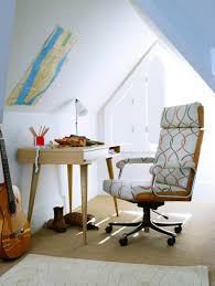 Typing Chair Design Ideas 37 Cool Attic Home Office Design Inspirations Digsdigs
