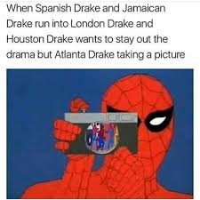 Spiderman Meme - the truth on twitter these spiderman drake memes had me crying