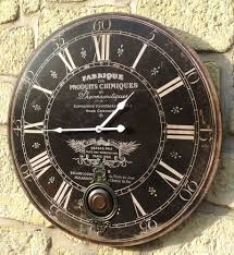 Pendule Murale Cuisine by Style Ancienne Grande Horloge Pendule Murale Ronde A Balancier De