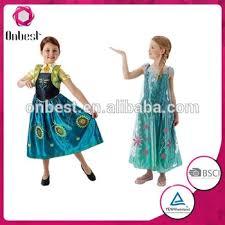 Elsa Costume Kids Summer Frozen Fever Dress Frozen Princess Elsa Costume Frozen