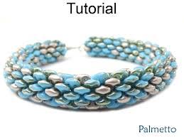 bracelet pattern tutorials images Beading tutorial pattern superduo tubular bracelet necklace