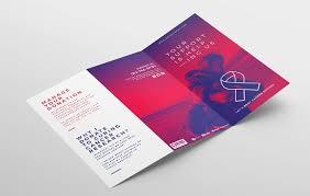 cancer charity tri fold brochure brochure templates creative
