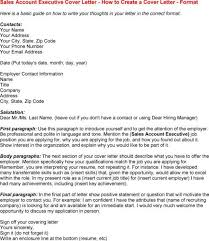 it sales executive cover letter