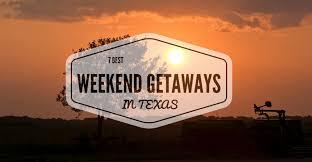7 best weekend getaways in vacation spots 2017