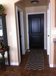 black interior doors pewter walls white door frames wonder how