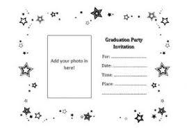 printable graduation invitations graduation invitation templates