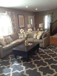 tan and grey living room 17