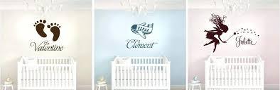 stickers pas cher pour chambre stickers pour chambre de bebe le sticker personnalis avec le prnom