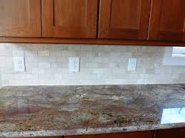 Kitchen Subway Tiles Backsplash Pictures by Subway Tile Backsplash Kitchen With Caesar Stone Countertop