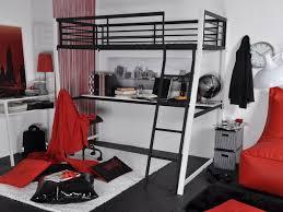 lit mezzanine noir avec bureau lit mezzanine malicio 90x190cm bureau option matelas