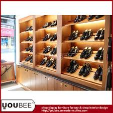shop decoration china high end men shoes shopfitting footwear shop decoration