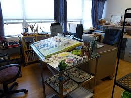 small studios a small painting studio is cozy pamdora s box