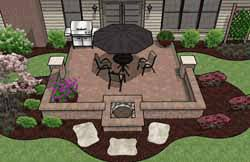 Patios Designs Pre Priced Patio Designs Cincinnati Schneider S Landscaping