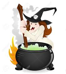 halloween witch vector royalty free cliparts vectors and stock