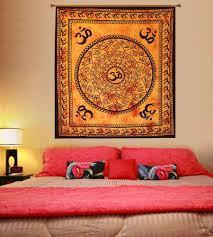Bedroom Wall Tapestries Meditation Om Tapestry Spiritual Wall Hanging