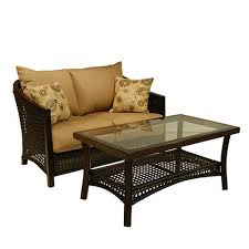 Wicker Loveseat Replacement Cushions Replacement Cushions For Patio Sets Sold At Lowe U0027s Garden Winds