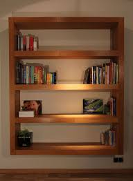 bookshelves wooden good wooden material l shaped oak wall shelf
