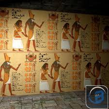 egypt wall obj egyptian egypt wall obj
