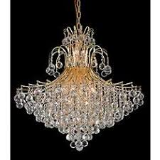 Crystal And Gold Chandelier Gold Crystal Chandeliers Lamps Plus