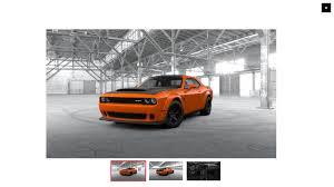 Dodge Challenger Reliability - dodge challenger srt demon configurator goes live