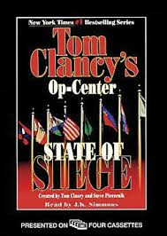 the state of siege tom clancy s op center state of siege audio book cassettes abridged