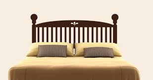 Headboard Wall Sticker by Classic Wood Headboard Wall Decal Traditional Wall Decals By