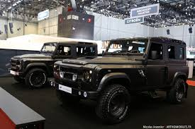 kahn land rover defender kahn design land rover defender invictus cars pinterest