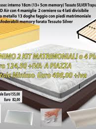 fabbrica materasso materassi ancona kit materasso fascia rete cuscini