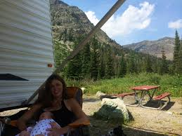 Montana travel blogs images Montana vacation blog camping at the two medicine campground jpg
