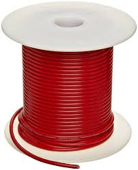 ul1015 commercial copper wire red pvc insulation electronic
