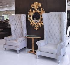 High Back Chairs For Living Room Baroque High Back Chair Salons Living Rooms And Room