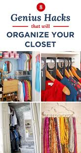 10 genius hacks to organize your closet your very best life