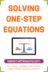 165 best one step equations u0026 inequalities images on pinterest