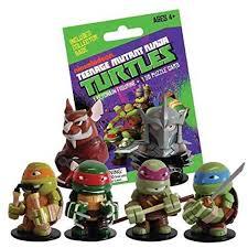 teenage mutant ninja turtles mystery mini keychain figure and 3d