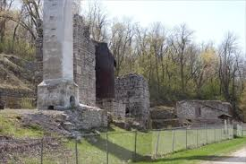 high cliff state park map lime kiln ruins high cliff state park wisconsin usa preserved