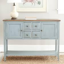 Blue Console Table Safavieh American Home Console Powder Blue