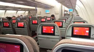 A340 Seat Map Empty Iberia Airbus A340 600 London Heathrow Madrid Ec Jba