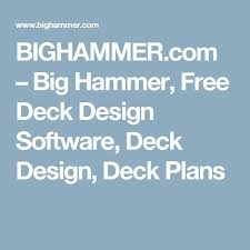Free Wood Deck Design Software by The 25 Best Free Deck Design Software Ideas On Pinterest Deck