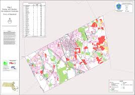 Massachusetts Town Map by Planning U0026 Zoning Maps Town Of Mansfield Ma