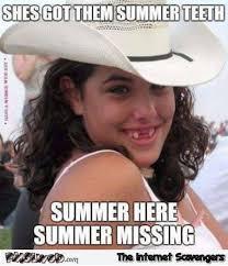 Fedora Meme - she got them summer teeth funny meme pmslweb