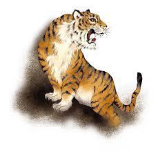 japanese tiger stock illustration illustration of drawing 42214821