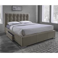storage beds you ll love project platform bed with basket storage